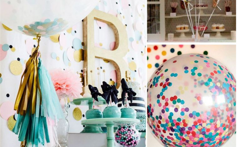 10 globos en tendencia para decoración de fiestas
