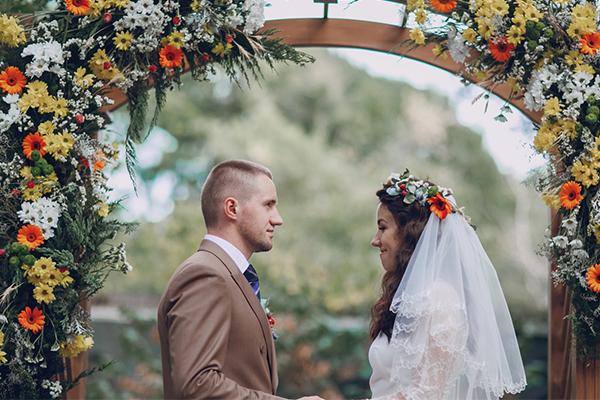 flores en boda