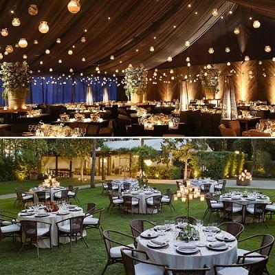 ¿Salón o jardín, qué elegir para mi boda?